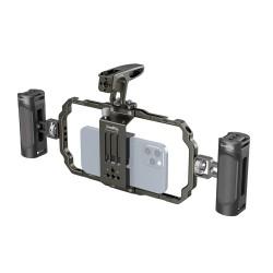 SmallRig kit de tournage pour smartphone cage et poignées - 3155