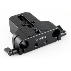 SmallRig base plate avec fixation pour deux tiges 15mm - 1674