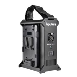 Aputure 2-Bay batteries Station d'alimentation V-Mount sortie 480w