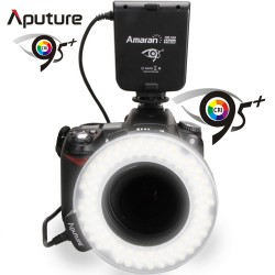 LED-Ringblitz für Makro Amaran Halo HN100 für Nikon