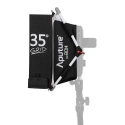 Kit diffuseur Softbox + grille pour panneau à led aputure HR672 et AL-528
