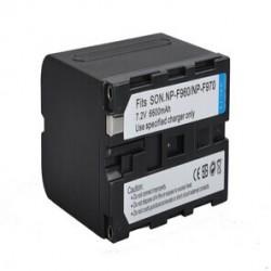 Grande batterie NP-F970 pour écran et panneau à LED Aputure