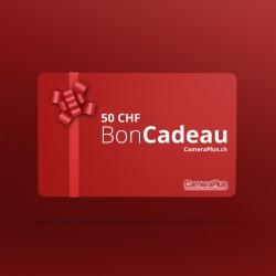 Carte cadeau CameraPlus d'une valeur de 50CHF