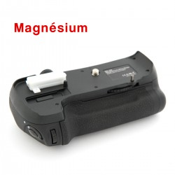 Grip Travor Magnésium BG-D600 MB-D14 pour Nikon D600 D610