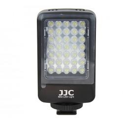 Mini torche à 35 LED pour vidéo AA