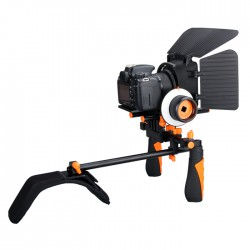 Kit Steadycam d'épauve Aputure + Follow focus + pare-soleil