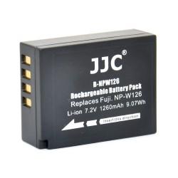 Batterie JJC NP-W126 pour Fujifilm
