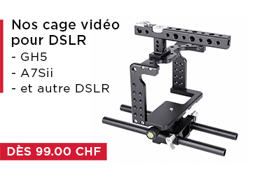 Video cage fuer DSLR