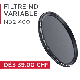 Filter variabler ND2 bis ND400