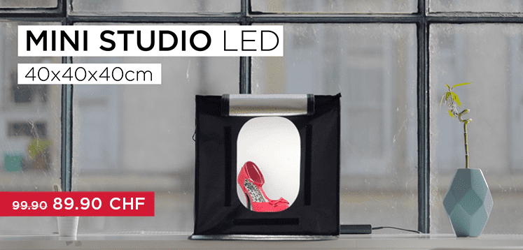 foto studio box mit led